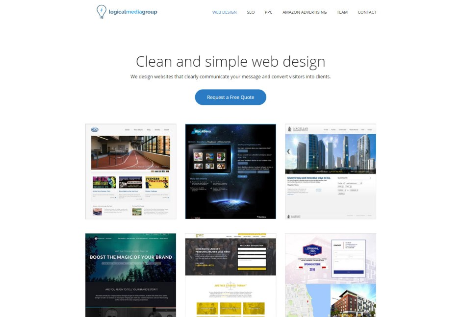 LOGICAL MEDIA - Web Agencies in Chicago