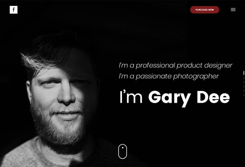 Folie Portfolio Freelancer WordPress Theme