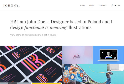 Folie Portfolio Metro WordPress Theme