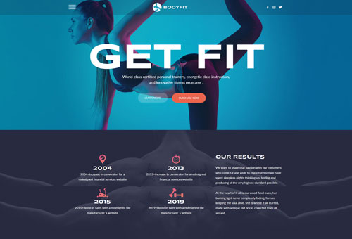 Regn Fitness WordPress Theme