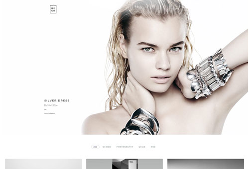Regn Photography WordPress Theme