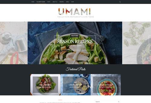 Picante Blog Full WordPress Theme