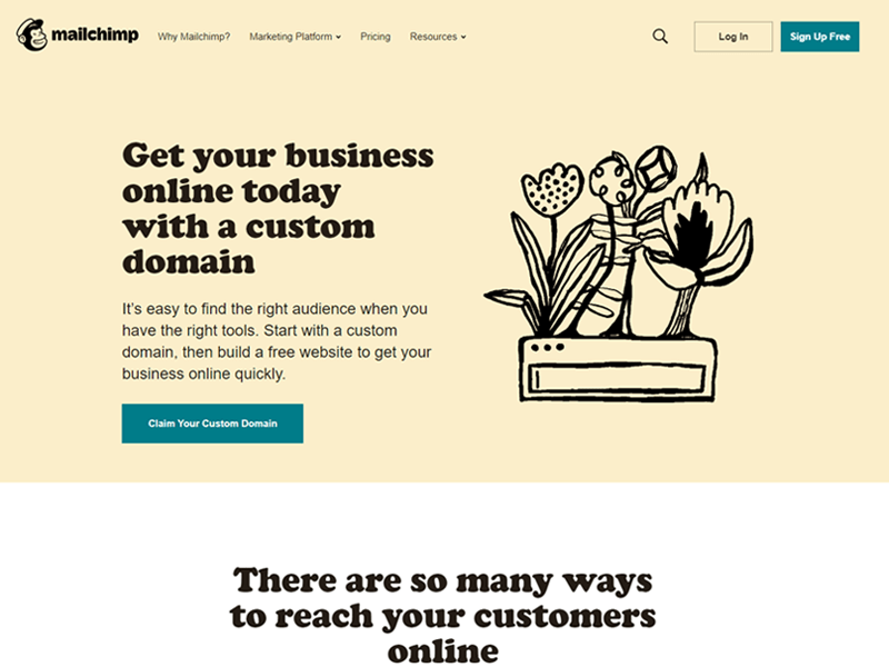 mailchimp - email software