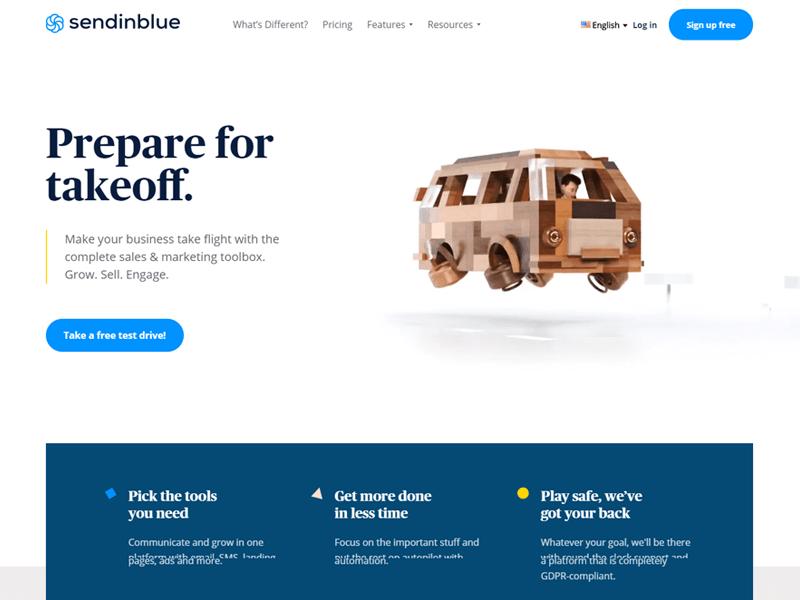 sendinblue email marketing provider