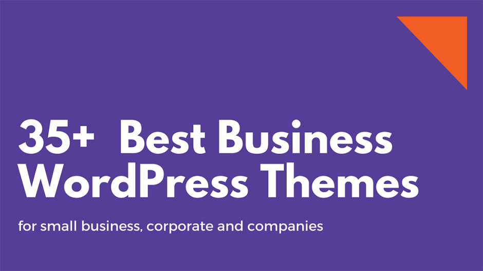 35+ Best Business WordPress Themes