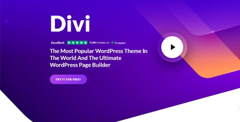 Divi WordPress theme overview