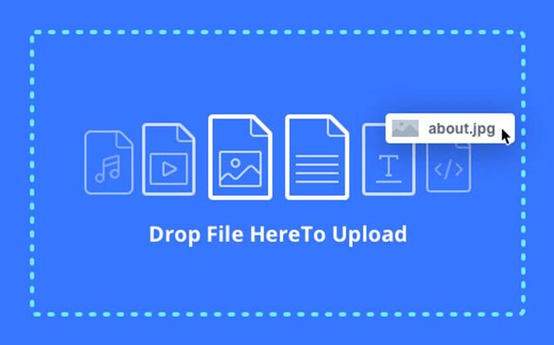 Drag & Drop to Upload Assets