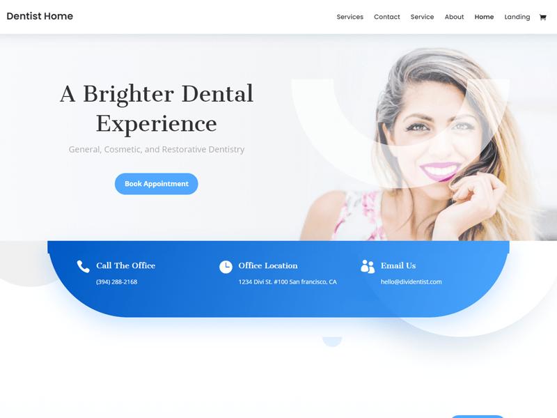 Divi: Best Dentist WordPress Themes