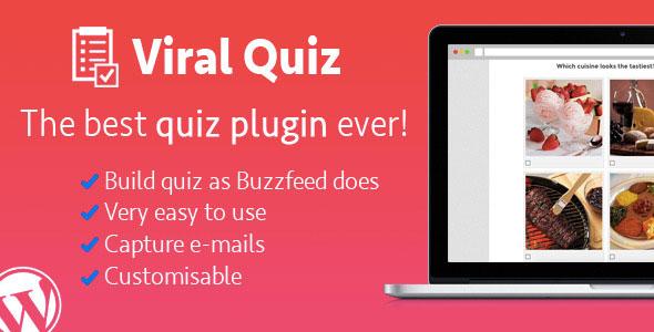 Wordpress Viral Quiz v1.88 – BuzzFeed Quiz Builder