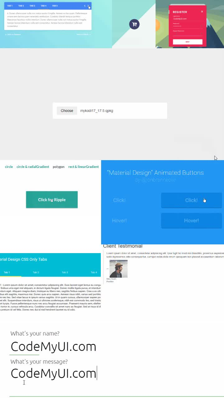 46 Material Design Inspiration Html Css Snippets 3 ℂ𝕠𝕕𝕖𝕄𝕪𝕌𝕀