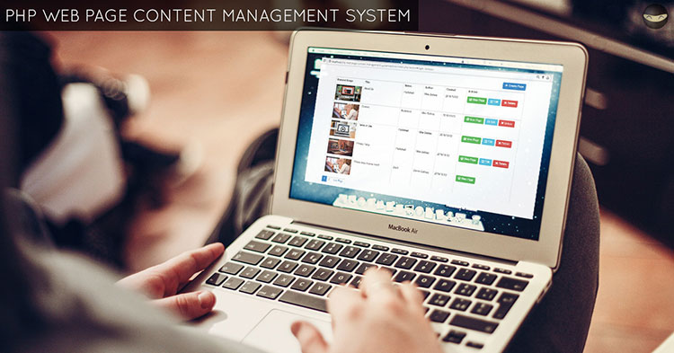 php-web-page-content-management-system