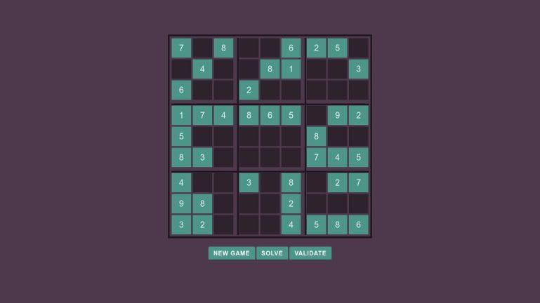 Sudoku JS