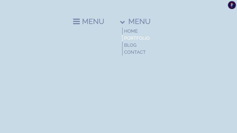 CSS Side navigation & Hamburger Menu