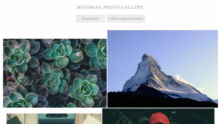 Material Photo Gallery