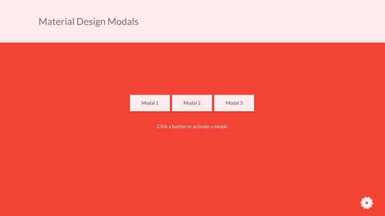 Responsive Modal Design