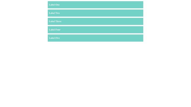 CSS Accordion