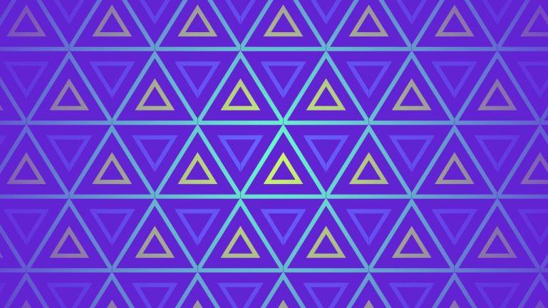 Infinite SVG Triangle Fusion