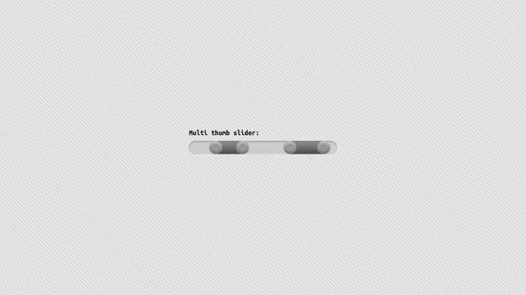 Multi Handle Slider Realistic #8