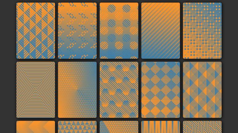 1 Element Card Background Patterns
