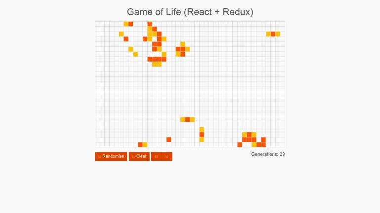Game of Life (React + Redux)