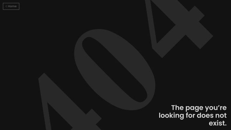 UI 404 Page