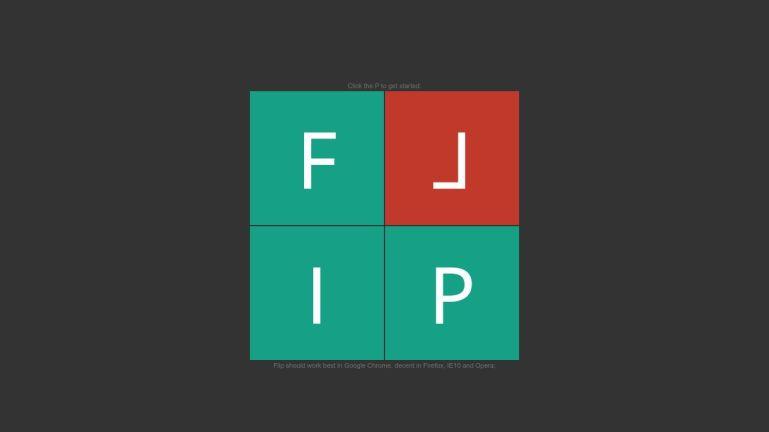 Flip - card memory game.