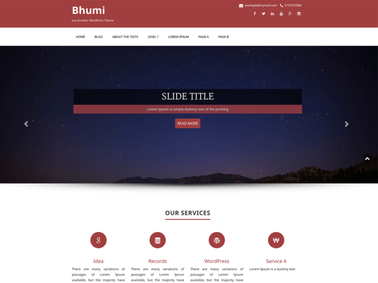 Bhumi-best-free-portfolio-multipurpose-WordPress-theme-WPreviewteam