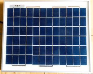 C2000 Solar MPPT Tutorial 10W panel front