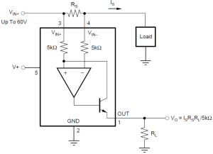 C2000 Solar MPPT Tutorial INA138 typical circuit