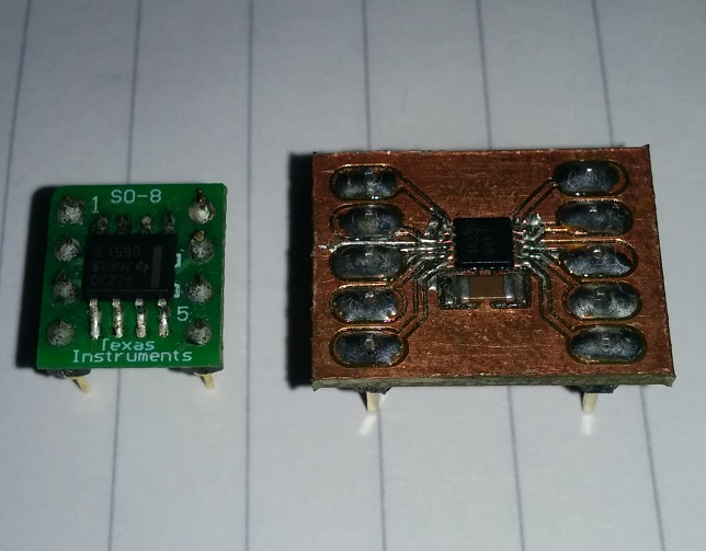 MSP430 Launchpad used as a programmer MSP430G2230