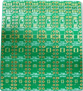 MSP430 Launchpad used as a Programmer for MSP430G2230 DIP Adaptor evaluation PCB