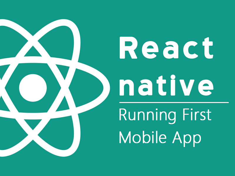 Running your first react native app