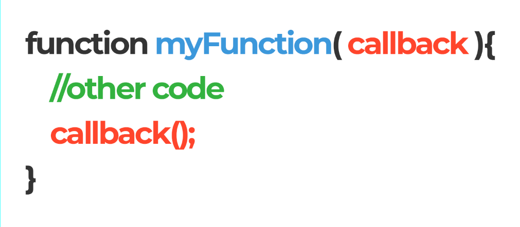 callback functions in a single image