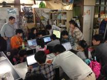 小学生・中学生向けプログラミング教室(CoderDojoさいたま第2回2014年4月20日)開催レポート
