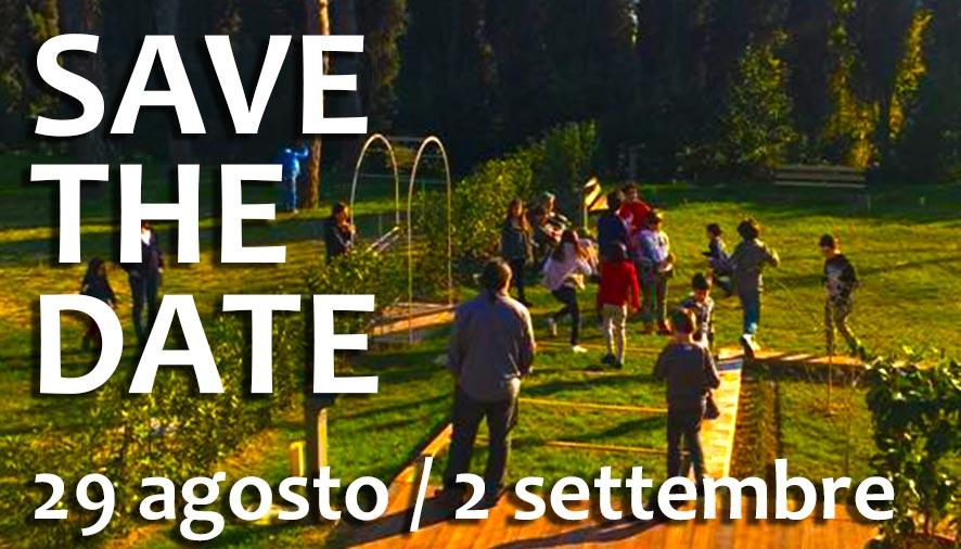 Save the date: dal 29 agosto al 2 settembre