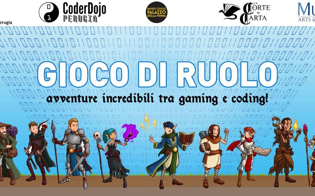CoderDojo Perugia incontra La Corte di Carta