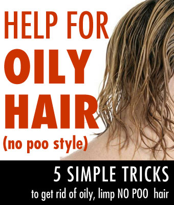 No Poo Oily Hair Help