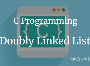 Doubly Linked List Program