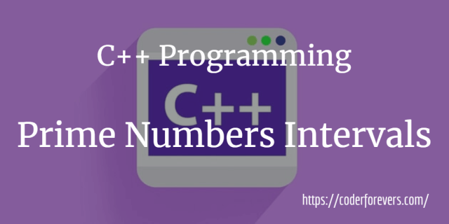 Prime Numbers Intervals