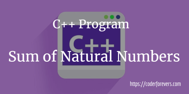 Sum of Natural Numbers