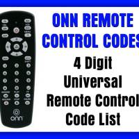 ONN Universal Remote Codes