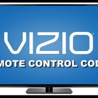 Remote Control Codes For Vizio TVs