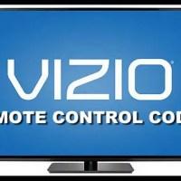Remote Control Codes For Vizio TVs