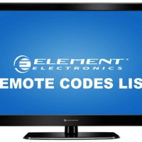 Remote Control Codes For Element TVs