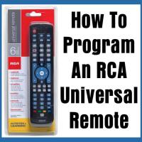 How To Program An RCA Universal Remote