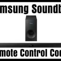 Samsung Soundbar Remote Control Codes