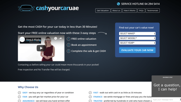 cashyourcaruae.com website review