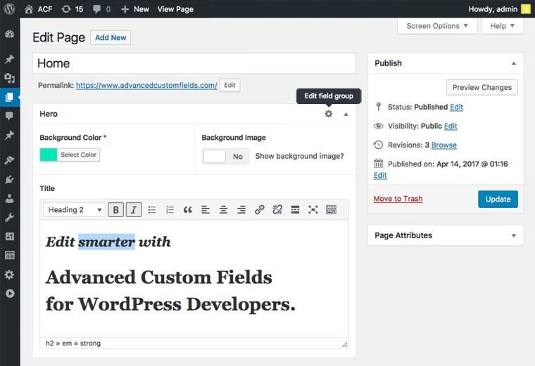 Toàn tập về Advanced Custom Fields - Plugin dành cho WordPress