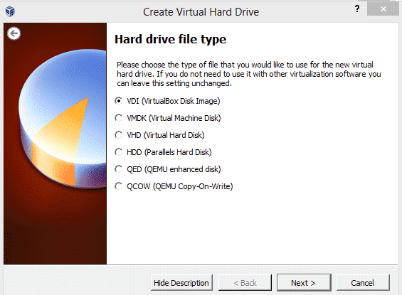 select-hard-drive-type