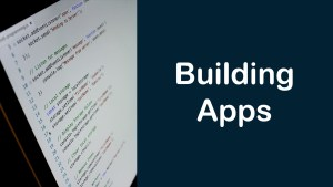 Let's build an app together